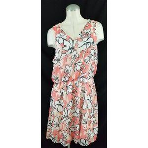 Banana Republic Size 12 Sleeveless Dress Floral